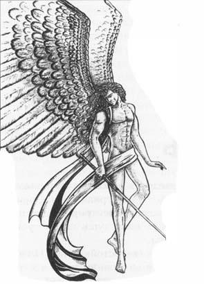 рисунки ангелов карандашом: